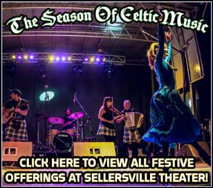 Come join us for a Season of Celtic Music at the Sellersville Theater. Check out our website to see a listing of shows for March, April, and May 2017.