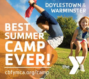 Y Summer Camp in Doylestown. Located on our beautiful 20 acre campus outside the borough city limits, our summer camp program provides weekly half-day, full-day specialty, sports and adventure camp options for your child. Mix and match to provide your child with their best summer ever. Programs run weekly from June 19-August 25. No camp July 4.
