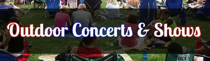 Enjoy the hundreds of wonderful summer events in our calendar - live music, outdoor movies, and much more