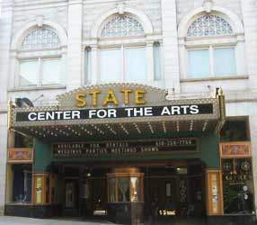 The State Theater in Easton, MOntgomery County, PA
