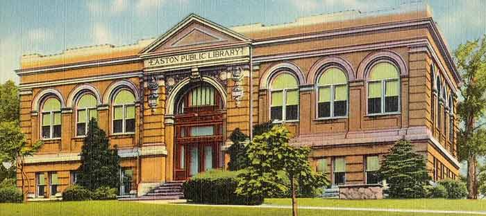 Easton Library in the Lehigh Valley, PA