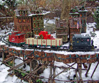 Morris Arboretum Holiday Train